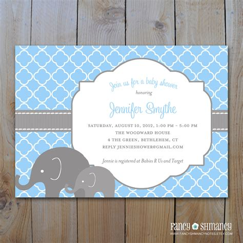 Elephant Baby Shower by Unavailable Listing On Etsy