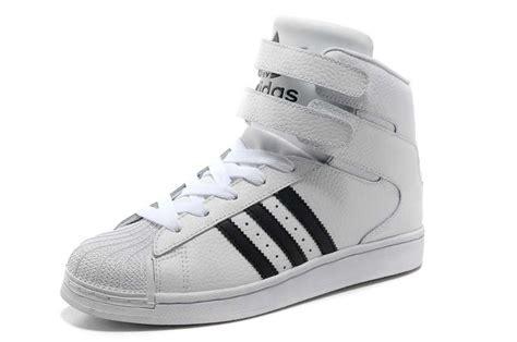 Sepatu Adidas Superstar High White Black 37 40 xsqr201053 cheap adidas superstar hi shoes white black in high quality
