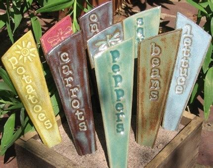 Planter Markers by Garden Markers And Planters Workshop Union Project
