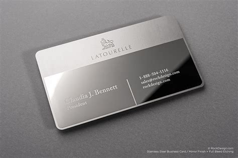 Mirror Business Cards