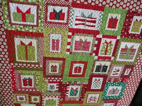 1000 images about christmas package quilt on pinterest