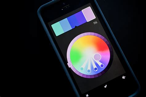 color wheel app for rgb general particle