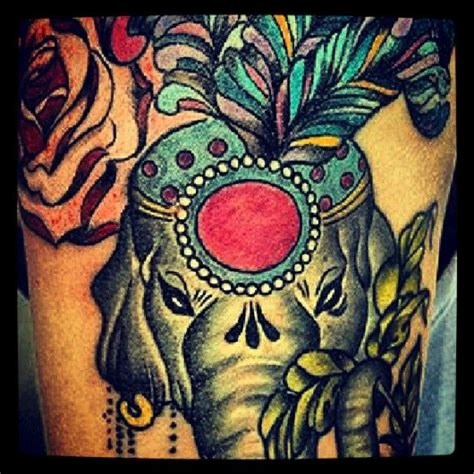 traditional elephant tattoo 17 best ideas about circus elephant tattoos on