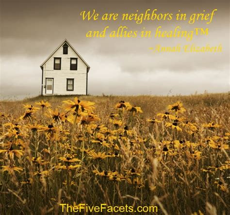 Allies In Healing healing and the two sides of grief the five facets