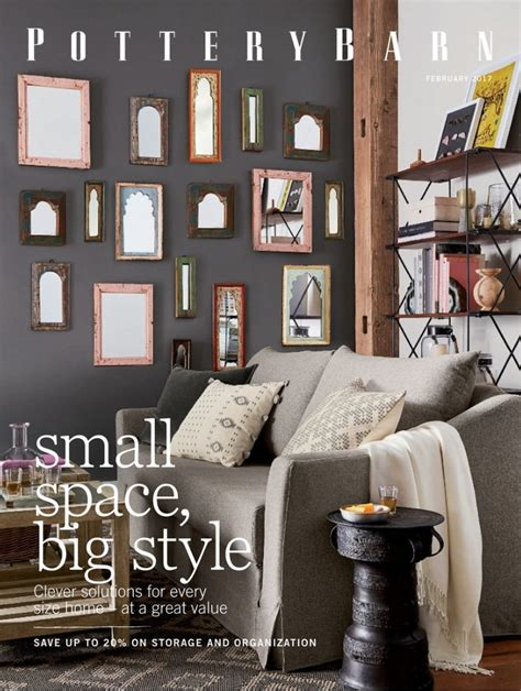 request a free pottery barn catalog by mail