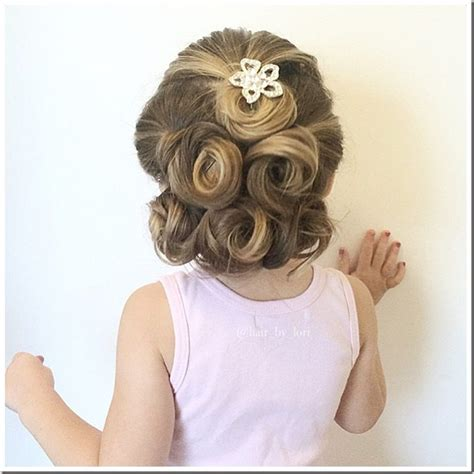princess hairstyles instagram 20 easy christmas hairstyles for little girls
