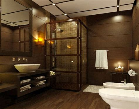 dark colored bathroom designs 18 sophisticated brown bathroom ideas home design lover