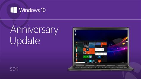 also released today were updates for the sdk tools r9 ndk r5b microsoft has released a new windows 10 anniversary update