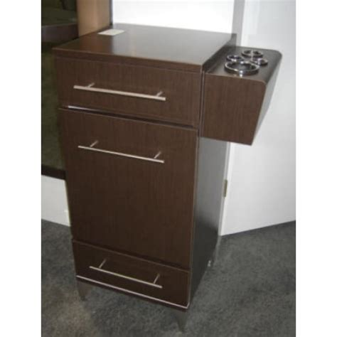 Salon Cabinet by Pibbs 5027 Styling Station With Accessory Holder