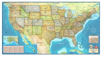 on us map united states political wall map by compart maps
