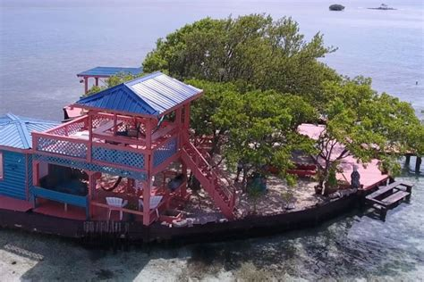 belize air bnb bird island placencia belize islands for rent in