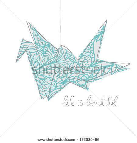 Largest Origami Crane - origami crane fotos en stock origami crane fotograf 237 a en