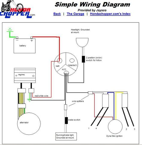 simple wiring diagram for evo softail with dyna 2000i