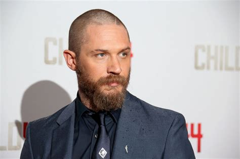 ed helms eyebrows tom hardy reveals a new bearded look picture celebs