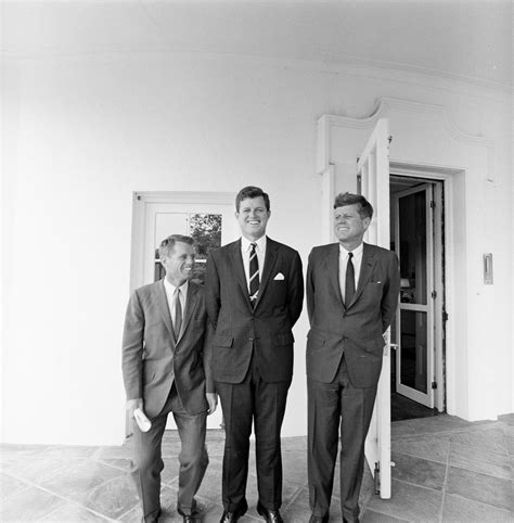 Jfk Oval Office by St 398 1 63 President John F Kennedy With Brothers