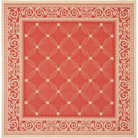 Square Area Rugs Safavieh Courtyard 7 Ft 10 In X 7 Ft 10 In Indoor Outdoor Square Area Rug Cy1502