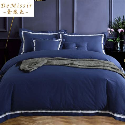 navy blue bed sheets online buy wholesale navy blue bedspread from china navy