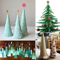 paper christmas tree crafts for kids popsugar moms