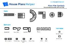 House Plans With Large Windows by Free Floor Plan Symbols