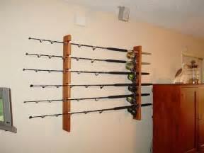best 25 fishing rod rack ideas on fishing