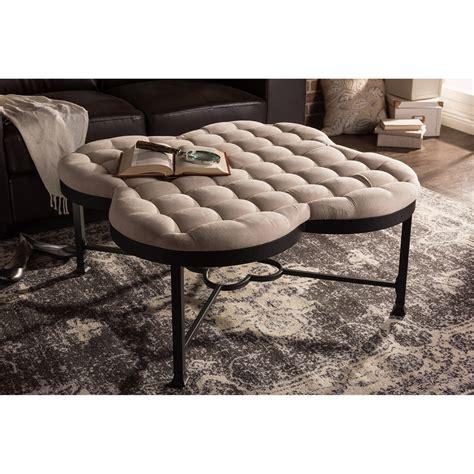 giant ottoman cloud plush large ottoman bench modern furniture