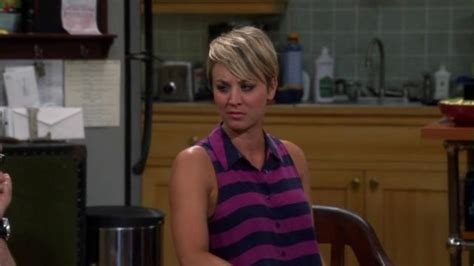 short hair penny on cbs the big bang theory the evolution of penny s style page