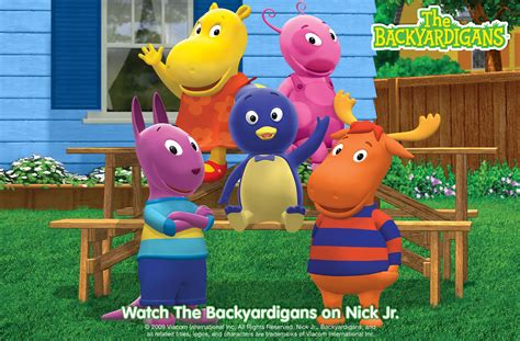 backyard nickelodeon backyardigans wallpaper wide the empire of the kop