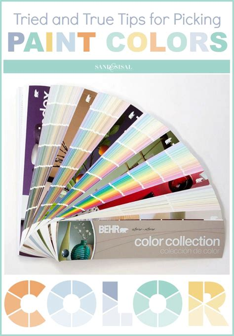 tips for picking paint colors tried and true tips for picking paint colors sand and sisal