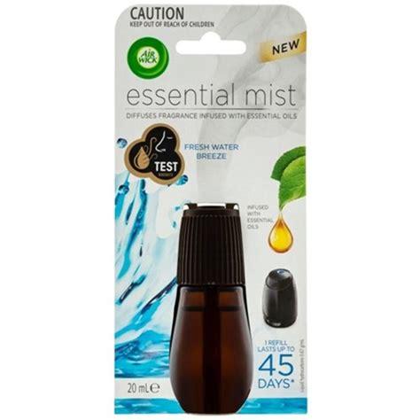 airwick mist air freshener refill fresh water breeze ml