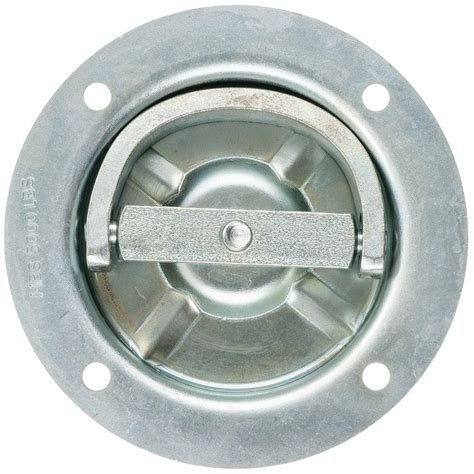 keeper 6 1 4 in rotating recessed d ring anchor 89315
