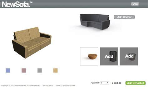 sofa configurator sofa configurator loop sofa
