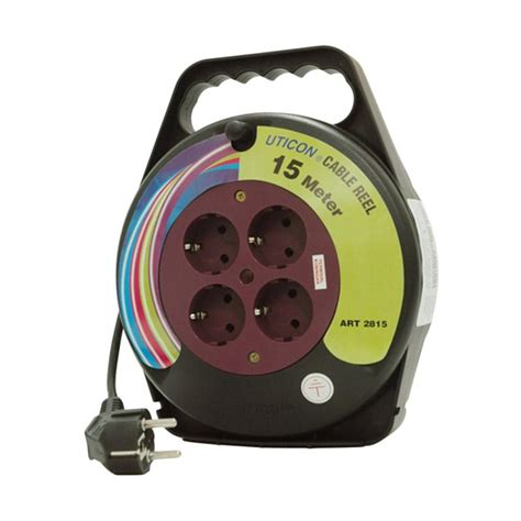 jual uticon cr 2815 kabel roll stop kontak harga kualitas terjamin blibli