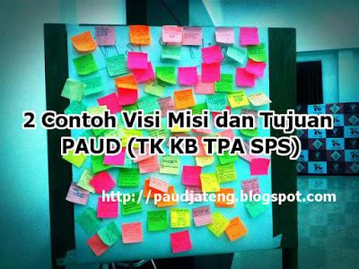 Aktivitas Cerdas Dan Kreatif Untuk Anak Paud Tk 2 contoh visi misi dan tujuan paud tk kb tpa sps paud jateng