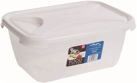 rectangular food storage containers 1 6l litres food storage container box rectangular brand