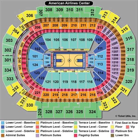 Rogers Center Floor Plan by American Airlines Center Tickets Aac Events Seating