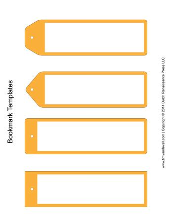 printable bookmark generator bookmark templates yellow tim s printables