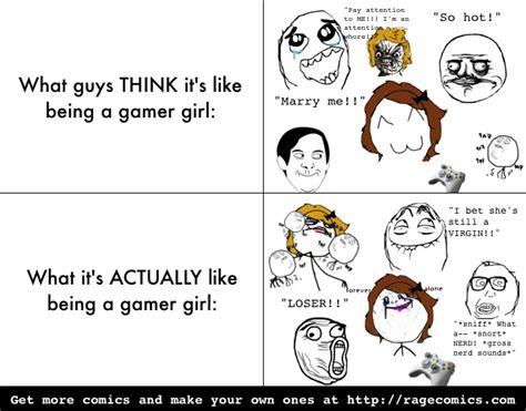 Rage Girl Meme - gamer girl rage memes