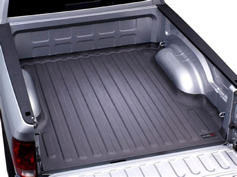 weathertech truck bed liner weathertech 36603 2011 2014 ford f150 techliner bed mat