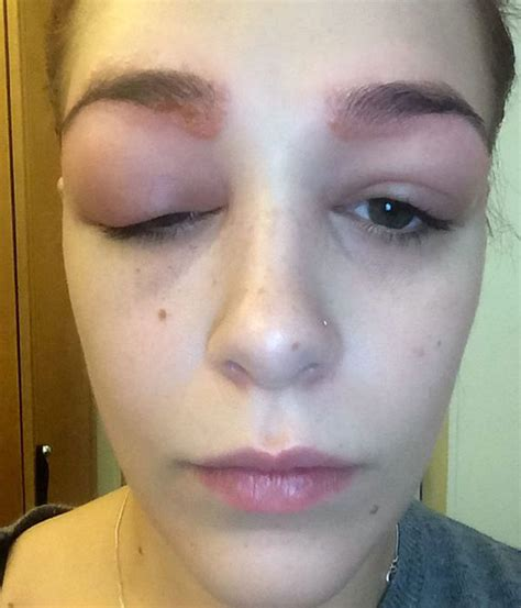 tattoo eyebrows itch this nightmare eyebrow story will scare you for life