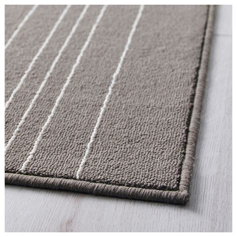 ikea carpet hulsig rug low pile grey 120x180 cm ikea