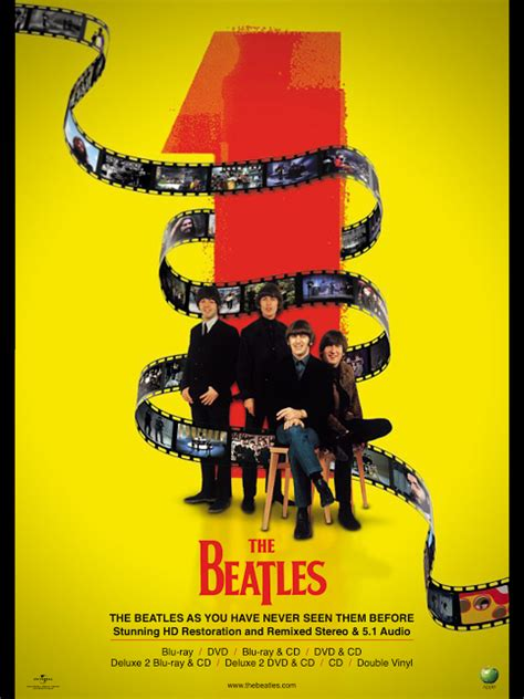 Cd The Beatles One Deluxe Dvd Imported Usa beatles news insider ad for the quot beatles 1 quot dvd