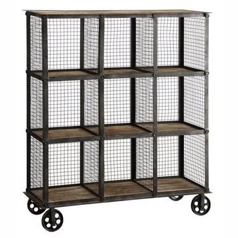 industrial bookcase on wheels best 20 home library design ideas on modern