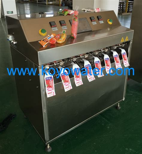 Koyo Counterpain Biasa 2 Sachet koyo automatic liquid juice pouch packing machine of pypack