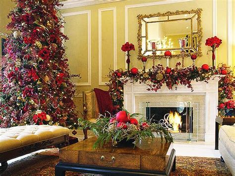 merry christmas decorating ideas  living rooms  fireplace mantels