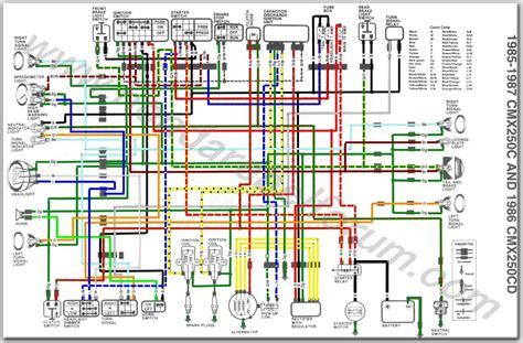 honda nighthawk wiring diagram wiring diagram with