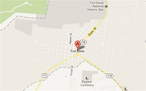 map of fort davis texas fort davis tx the daytripper