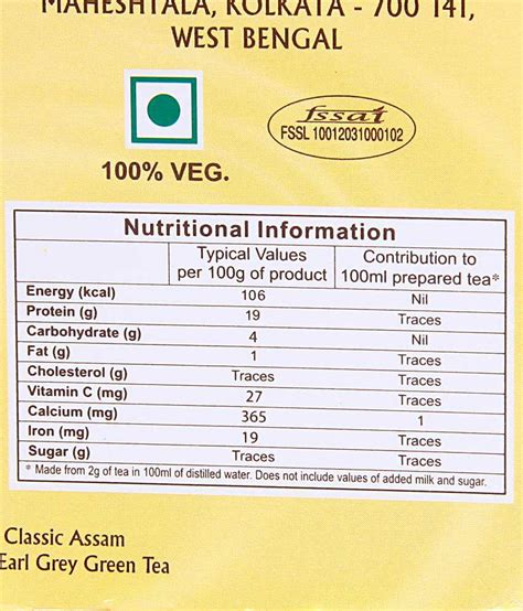 What Is The Statistics Of Earl G Mba Graduates by Bigelow Earl Grey Tea Nutritional Information Nutrition