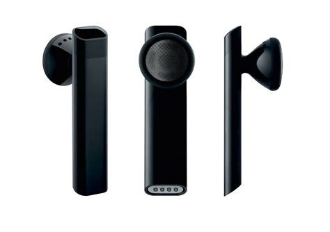 Apple iPhone Bluetooth Headset 2008 work Red Dot Award: Product Design