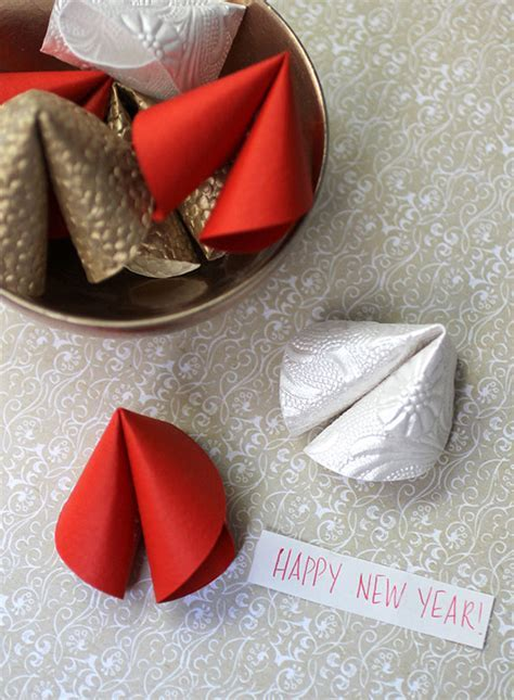 Chinese New Year: DIY Paper Fortune Cookies   Evite