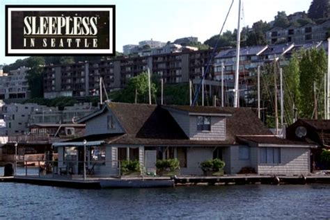sleepless in seattle house the real houseboat from quot sleepless in seattle quot